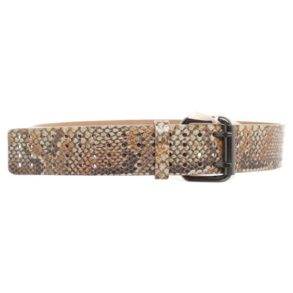Schumacher Leather belt