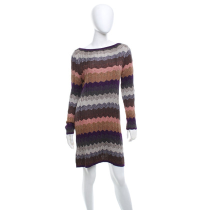 Missoni Knitted dress with zigzag pattern