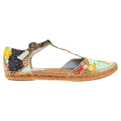 Dolce & Gabbana Espadrilles with print