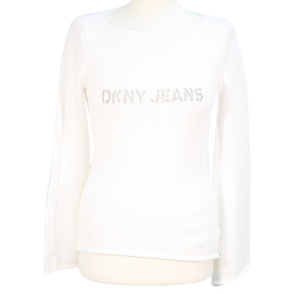 DKNY Sweater in white