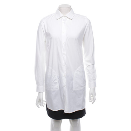 Max Mara Long blouse in white
