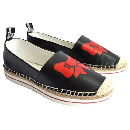 Moschino Love Espadrilles with bow