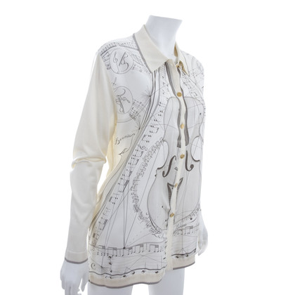 Hermès Silk Cardigan