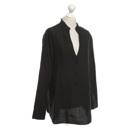 Strenesse Linen blouse in black