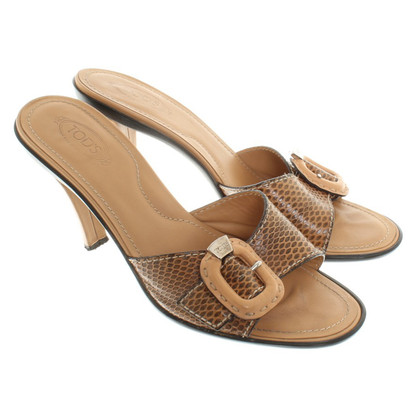 Tod's Sandals Leather
