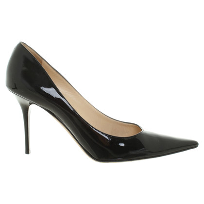 Jimmy Choo pumps made of lacquered leather