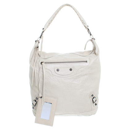 "Balenciaga ""Classic City Bag Ivory"""