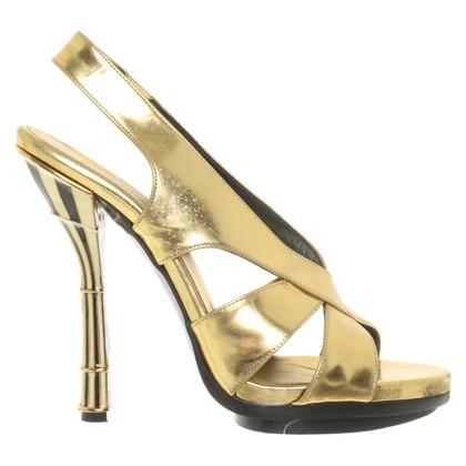 Balenciaga Sandals in gold colors
