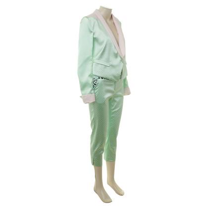 Just Cavalli Moderne pak in het groen