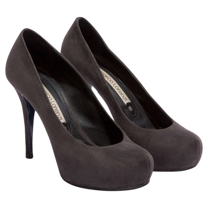 Gianmarco Lorenzi Suede pumps