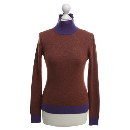 Etro Pull Brown / Violet