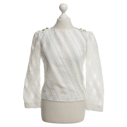 Maje Blouse in white