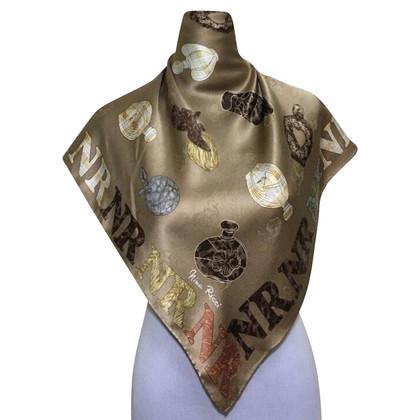 Nina Ricci sciarpa di seta
