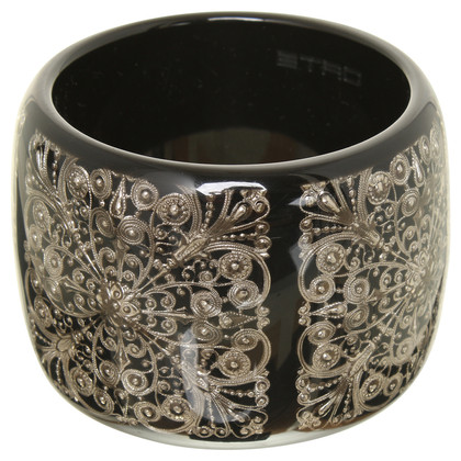 Etro Bangle with floral notes application