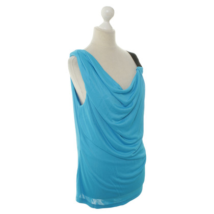 Ferre Asymmetric top in blue