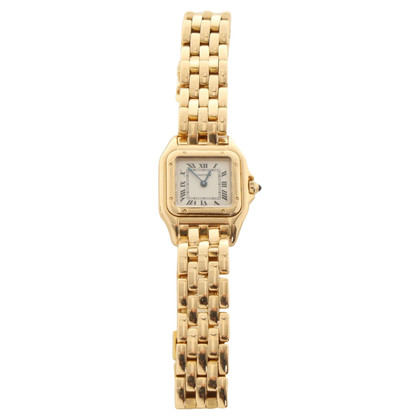 Cartier Panthère yellow gold watch