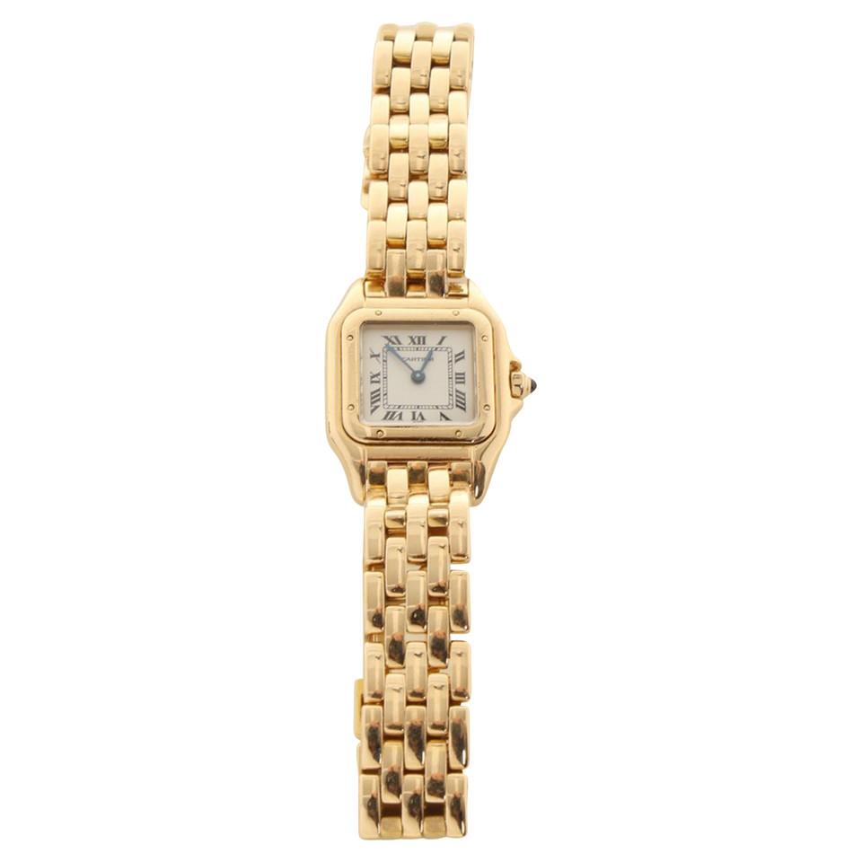 Cartier Panthère horloge in geel goud