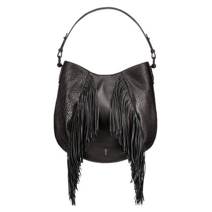 Christian Louboutin Bag Hobo con decorazioni Frans