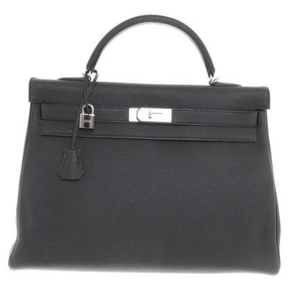 "Hermès ""Kelly Bag 40"" in black"
