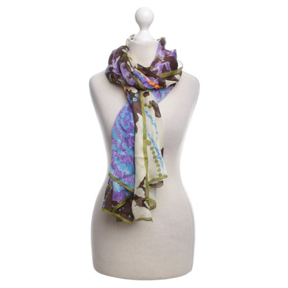 Valentino silk scarf Floral Print