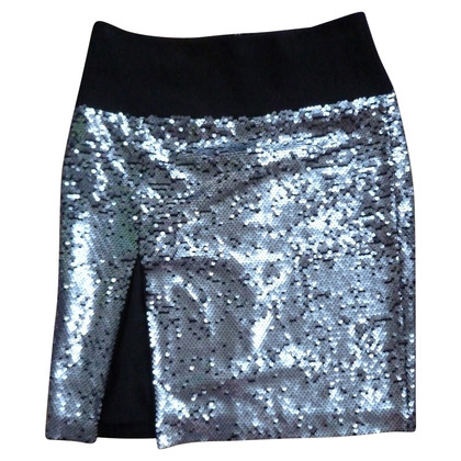 D&G silver sequined skirt