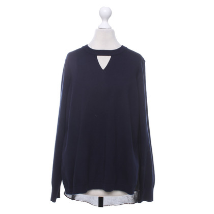 Karen Millen Sweater in dark blue / black