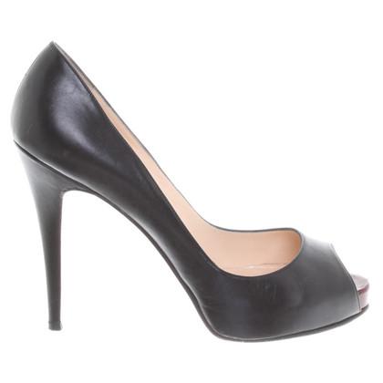 Christian Louboutin Peep-orteils en noir