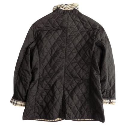 Burberry Giacca trapuntata in Black