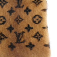 Louis Vuitton LV MONOGRAM MINK FUR sjaal / STAL