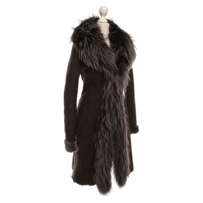 Other Designer Sly 010 - Lambskin coat with fur