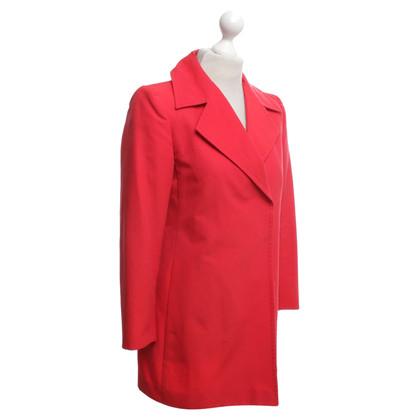 Ferre Coat in red