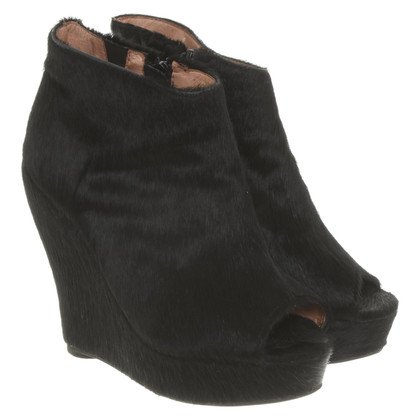 Jeffrey Campbell Wedges with fur trim