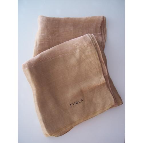 Online gehen Rabattgutschein am besten wählen Furla Schal mit Seiden-Anteil - Second Hand Furla Schal mit ...