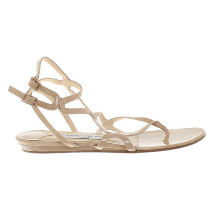 Jimmy Choo Sandalen in Beige