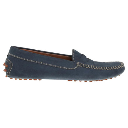 Tod's Moccasins in blue