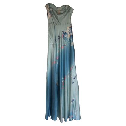 Roberto Cavalli Silk dress in multicolor