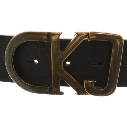 Calvin Klein Belt with Logo Buckle