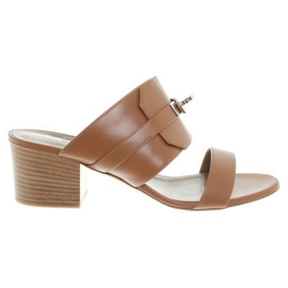 Hermès Mules a Brown