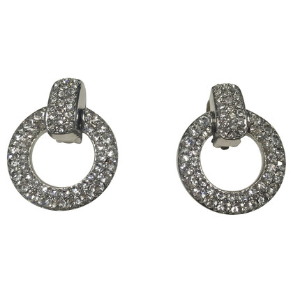 Christian Dior Clip earrings with gemstones