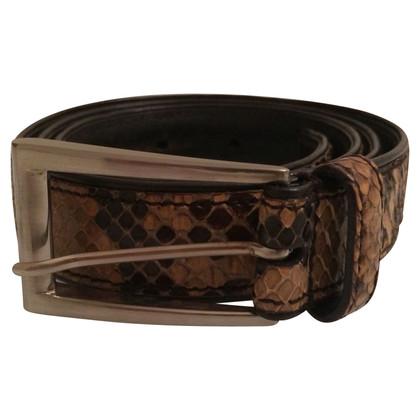 Prada Python leather belt
