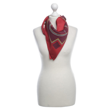 Hermès Tuch mit Motiv-Print