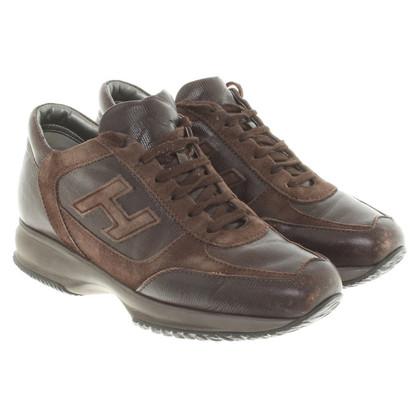 Hogan Sneakers in Braun