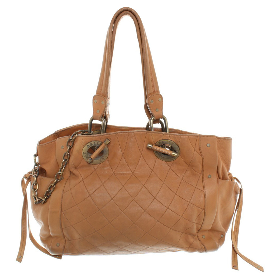 Bally Tassen Online : Bally handtas in beige koop tweedehands