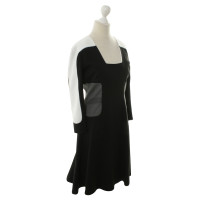 Aquilano Rimondi zwart/wit jurk