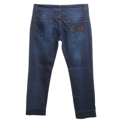 Just Cavalli Jeans in donkerblauw