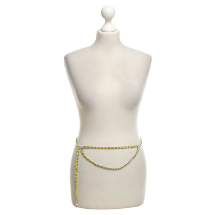 Chanel Silver-colored chain belt