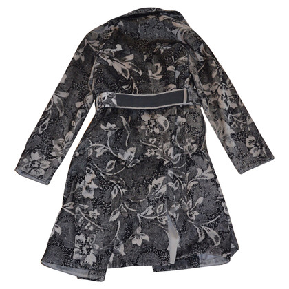 Alberta Ferretti Trenchcoat made of jacquard fabric