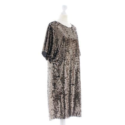 Calvin Klein Sequin jurk met mouwen