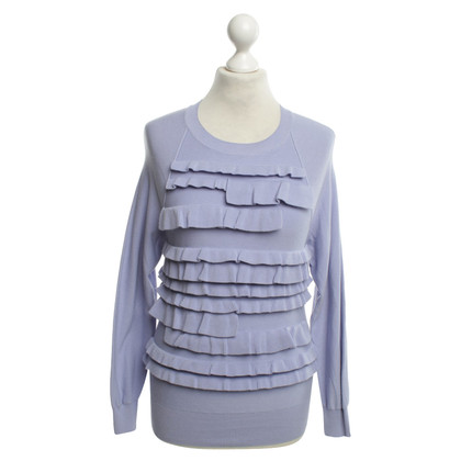 Sonia Rykiel Knitted sweater in purple