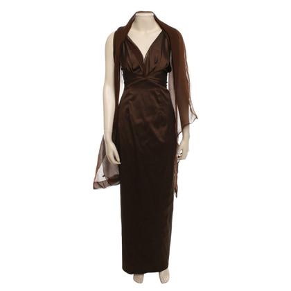Talbot Runhof Evening dress in brown